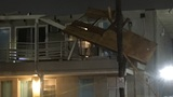 Myrtle Beach motel damaged by winds from Tropical Storm Irma