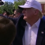 Trump arrives in Baton Rouge to tour flood areas