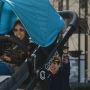Giant stroller allows parents to try before they buy