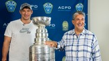 We spent a day traveling with the Stanley  Cup