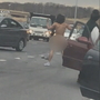 Man strips naked after crashing car, assaulting driver near D.C. airport