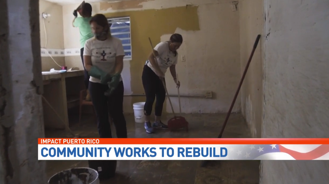Locals are transforming homes and lives in Puerto Rico. (WPEC){&amp;nbsp;}<p></p>