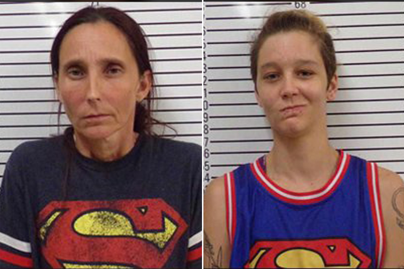 Patricia (left) and Misty Spann. (Stephens County Jail)