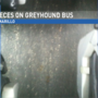 Passengers disgusted by overflowing toilet on Greyhound bus