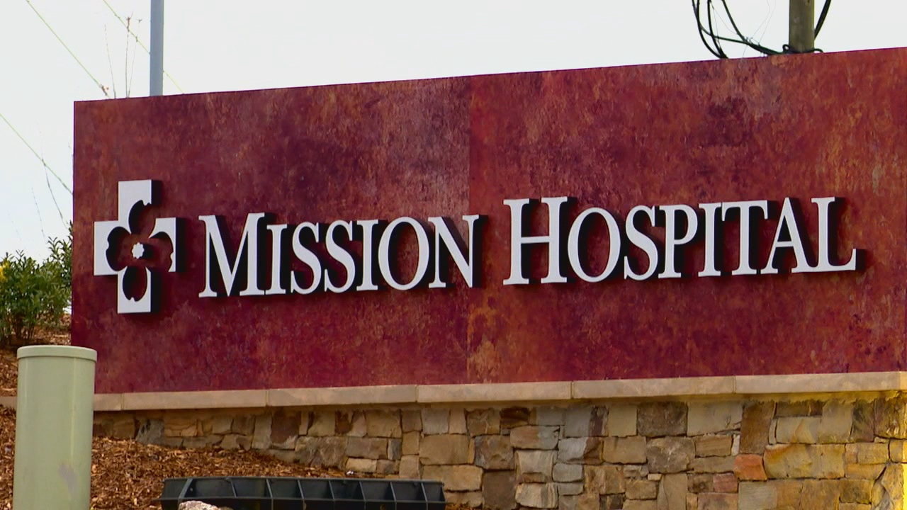 FILE -{ }Mission Hospital in Asheville, N.C. (Photo credit: WLOS Staff)