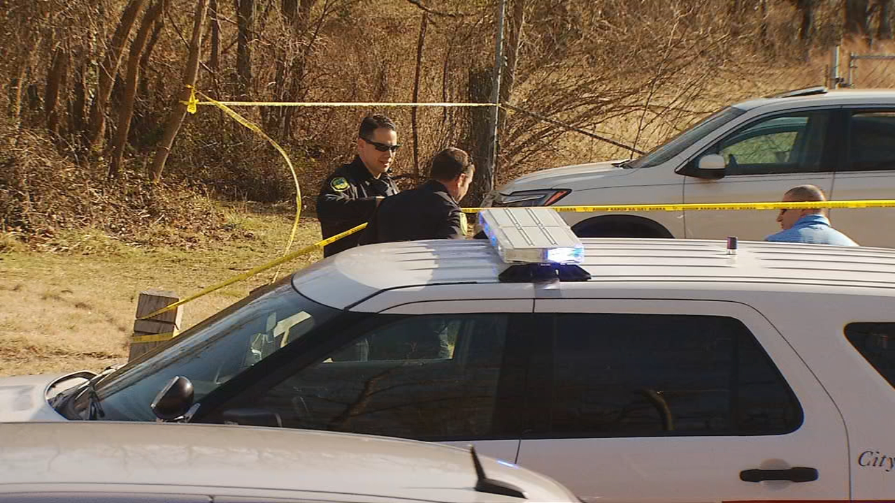 Asheville police are searching for a suspect in a shooting that happened Friday afternoon along Amboy Road next to Carrier Park. (Photo credit: WLOS staff)