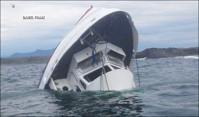 Report Large Wave Overturned Whale Watching Vessel Off Vancouver Island Komo