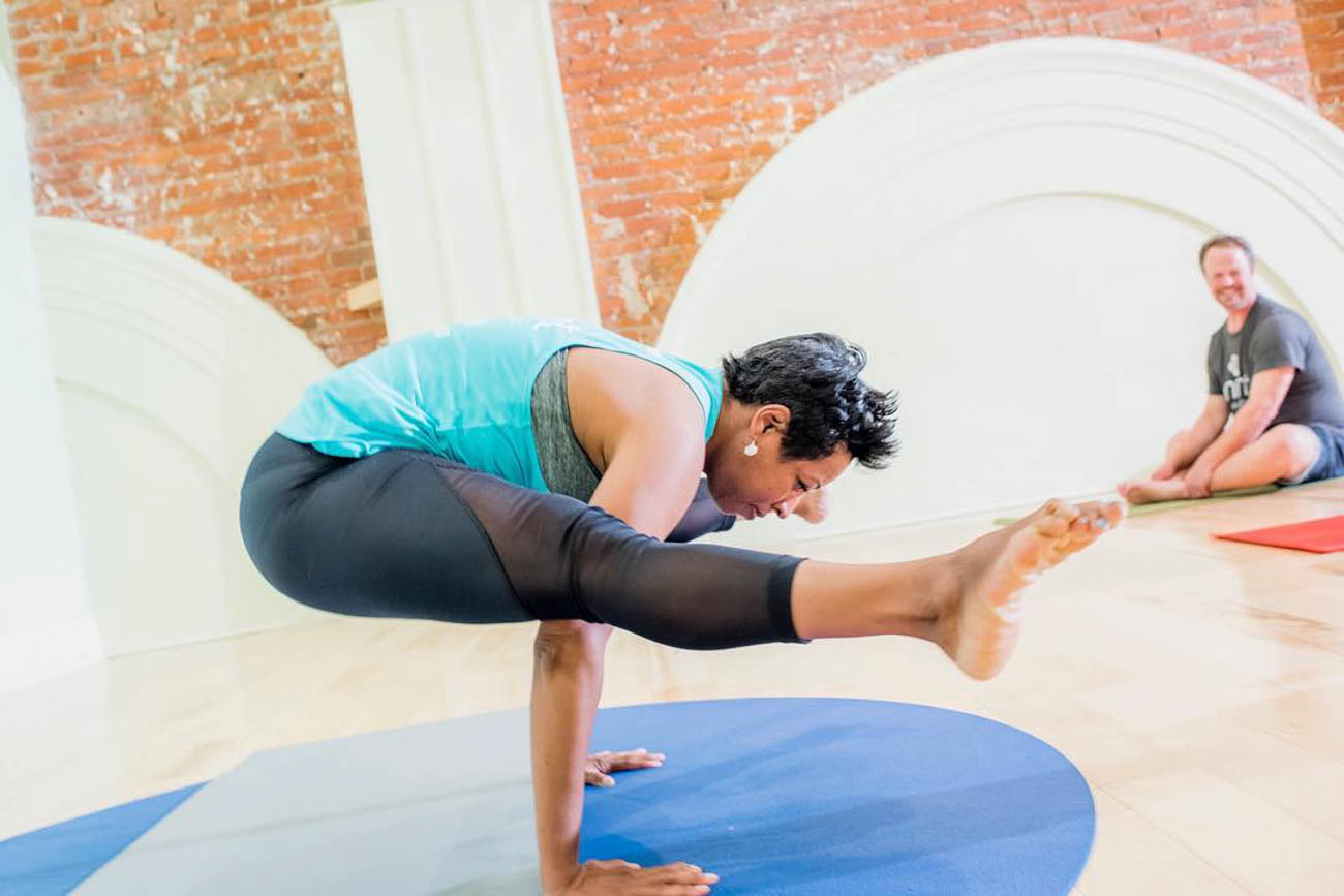 """Go ahead–try Pilates. Try Yoga. Maybe try a Boot Camp class. Try something new and see if you like it."" -Matthew T. Desjardins, M.D., Sports Medicine with OrthoCincy / Image courtesy of Mint Yoga Studio // Published: 8.31.19"