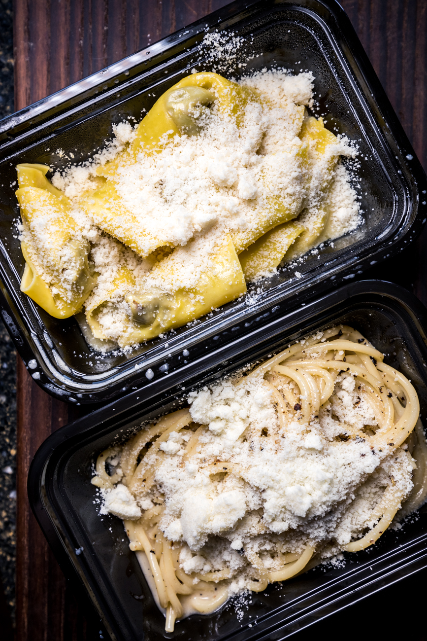 Cappellacci and Cacio E Pepe / Image: Catherine Viox{ }// Published: 4.25.20