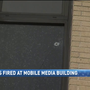 Shots fired at Mobile media building