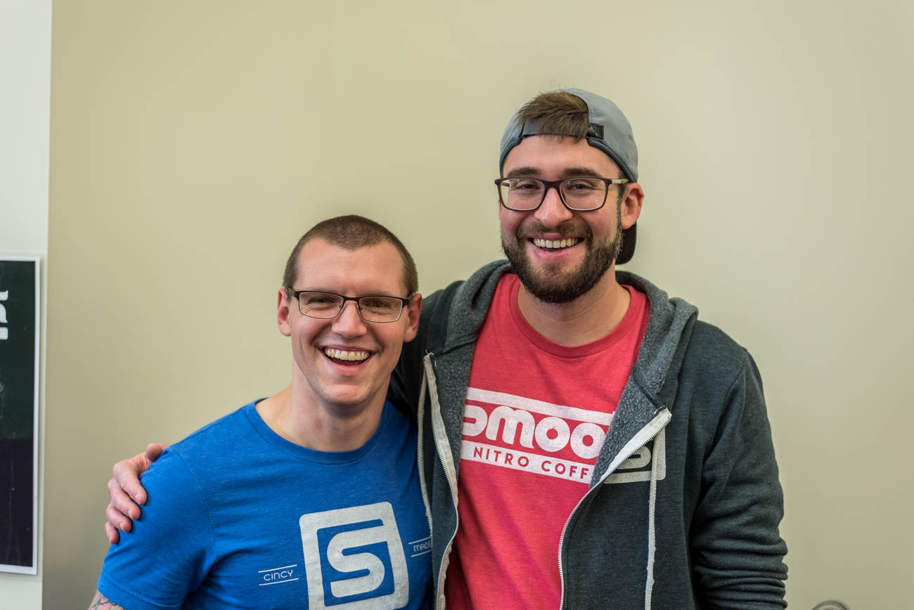 Tyler Siegel and Dan Thaler of Smooth Nitro Coffee / Image: Mike Menke
