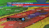Multi-day rain for central Illinois