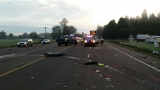 Fatal crash closes Hwy 34 east of Corvallis