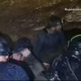 Rescue of Thai soccer team trapped in cave underway