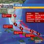 Powerful Category 5 Irma takes aim at Florida
