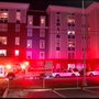 One person shot at UC apartment building