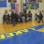 Fight breaks out ending Dunbar v. Lake Clifton game with 39 seconds on clock