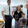 Third grader and tenth grader honored with life safety awards