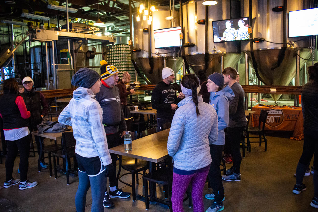 <p>There are scheduled running routes right in Fifty West Brewpub and Production Works' backyard, along the Little Miami Scenic Trail. The Fifty West runs are on Wednesdays and Saturdays and end with a brew at the bar. / Image: Katie Robinson, Cincinnati Refined // Published: 1.27.19</p><p></p>