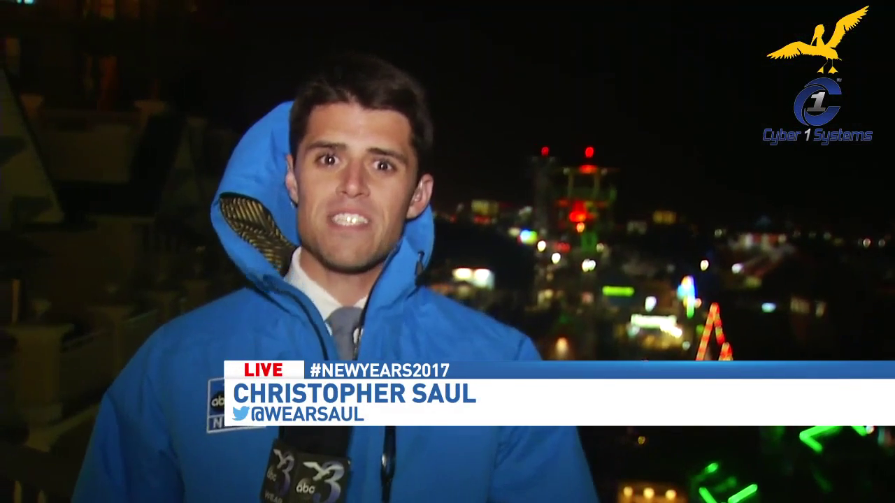 Christopher Saul checks in from Destin at the Beach Ball Drop.