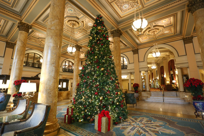Dd Christmas.The Willard Is Gearing Up For Christmas And The Results Are