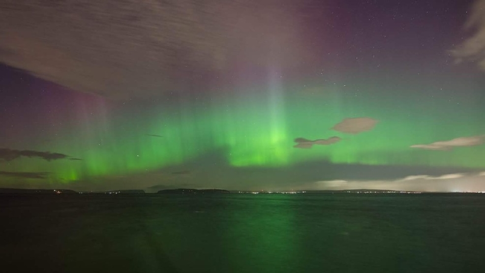 Northern Lights might be visible around Western Washington again this weekend