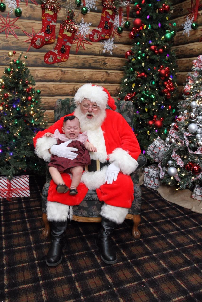 Ah, Santa Claus - the glorious bearded man in the big red suit who fulfills our kiddos holiday dreams and wishes.{ } Also doubling as, apparently, the scariest man alive. Grab a glass of eggnog, sit back and feast your eyes on these Santa pics gone wrong - or as I call them...realistic Santa pics.{ }{ }(Image: Candice Winters McMillian)