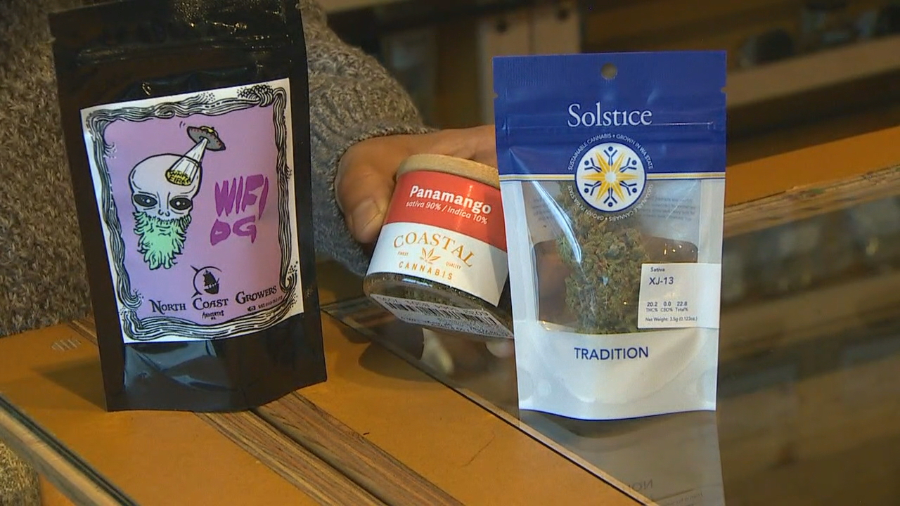 5-year anniversary of legal recreational pot in Washington state was on Saturday, Nov. 4, 2017. (KOMO News)