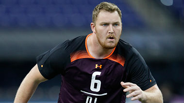 Beau Benzschawel is one of three Wisconsin offensive lineman who could go in the first three rounds of the draft.
