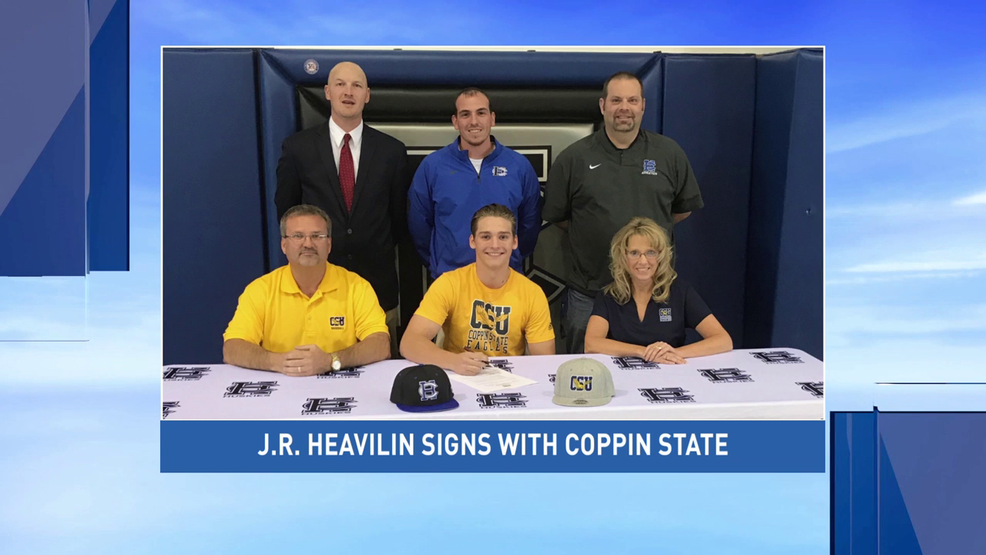 Harrison Central's Heavilin signs with Coppin State baseball program