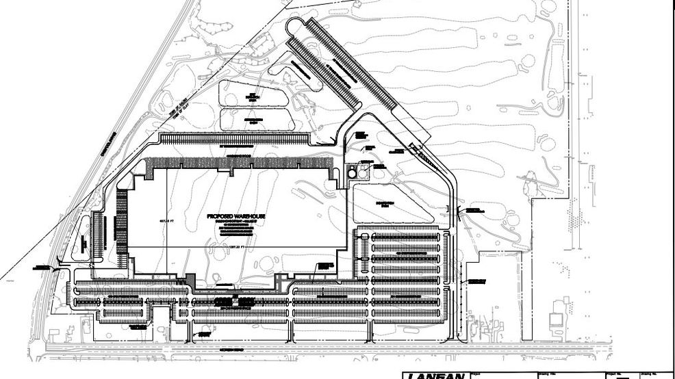 What will proposed Clay warehouse look like? Look to blueprints for clues