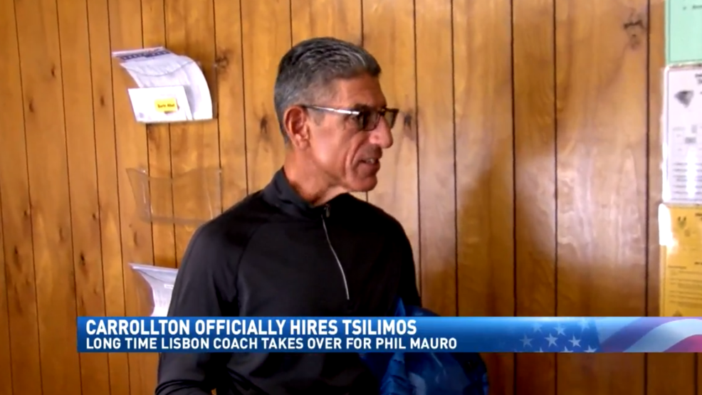 3.12.19 Video - Tsilimos officially takes over Carrollton football program