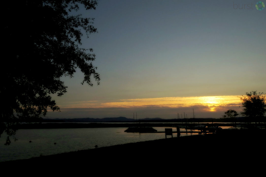 Debbie Tegtmeier shared this photograph of a sunset at Orchard Point on Fern Ridge Reservoir via BURST.com/KVAL
