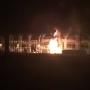 WATCH: Exclusive video of early morning fire at Bonaire power station