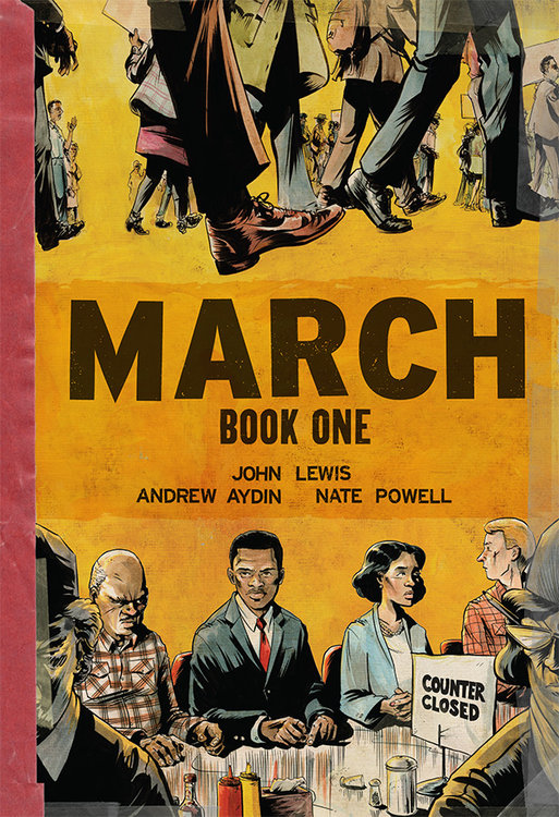 """March (Book 1)"" by John Lewis (Image: University Book Store / Top Shelf Productions)"