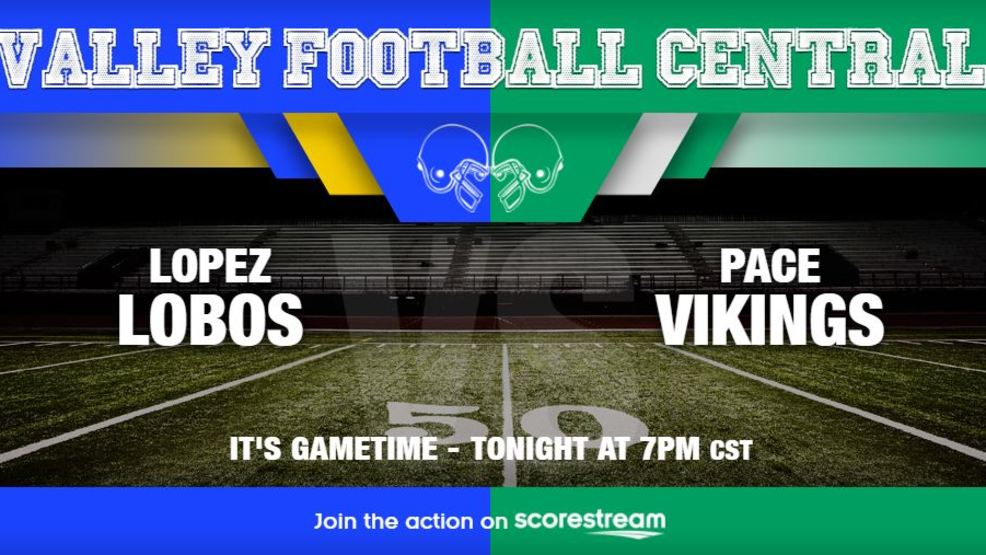 Watch Live: Brownsville Lopez Lobos at Brownsville Pace Vikings