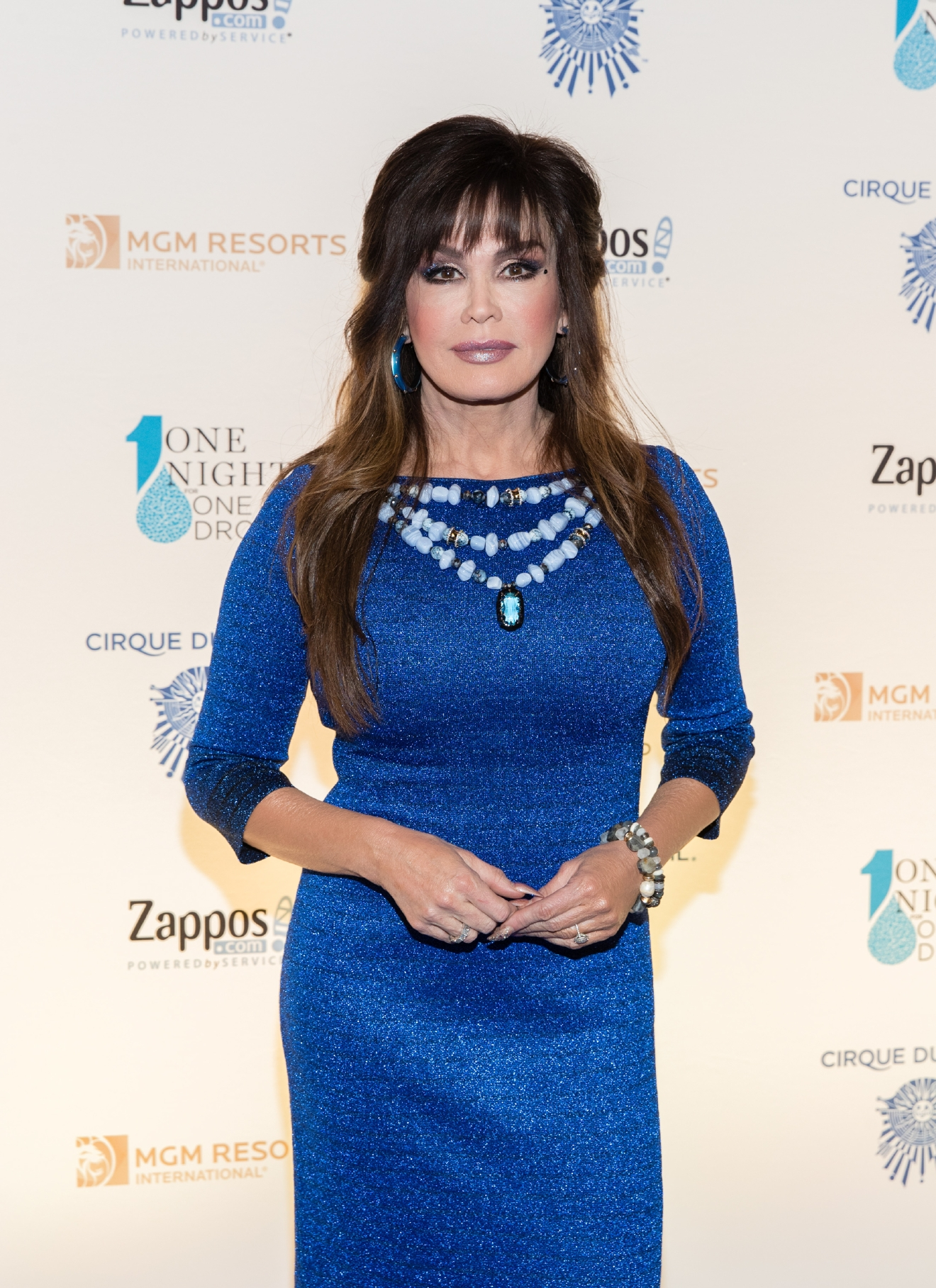 Marie Osmond at One Night for One Drop 2017. (Photo courtesy of Erik Kabik/ErikKabik.com)