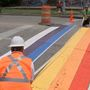 Rainbow-colored crosswalks approved at heart of LGBT community