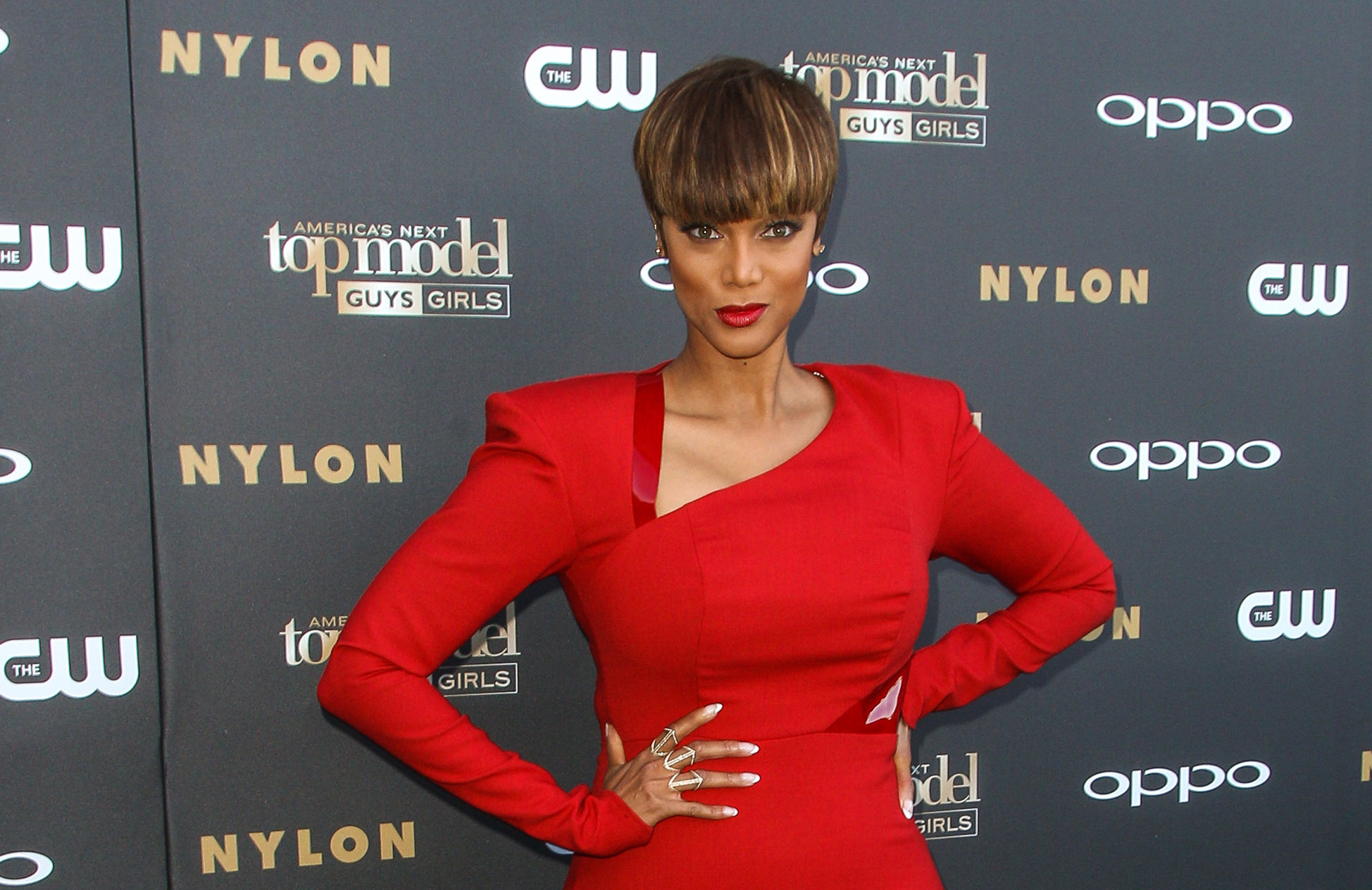 "FILE - In this July 28, 2015 file photo,Tyra Banks attends the ""America's Next Top Model"" Cycle 22 Premiere Party at Greystone Manor, in Los Angeles.  The CW reality competition series will wrap in Dec. 2015 with the current season's finale. Banks, the show's host and executive producer, just launched the syndicated daytime talk show ""FABLife.""  (Photo by Paul A. Hebert/Invision/AP, File)"