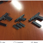 Truckee Police arrest five people on numerous gun related charges