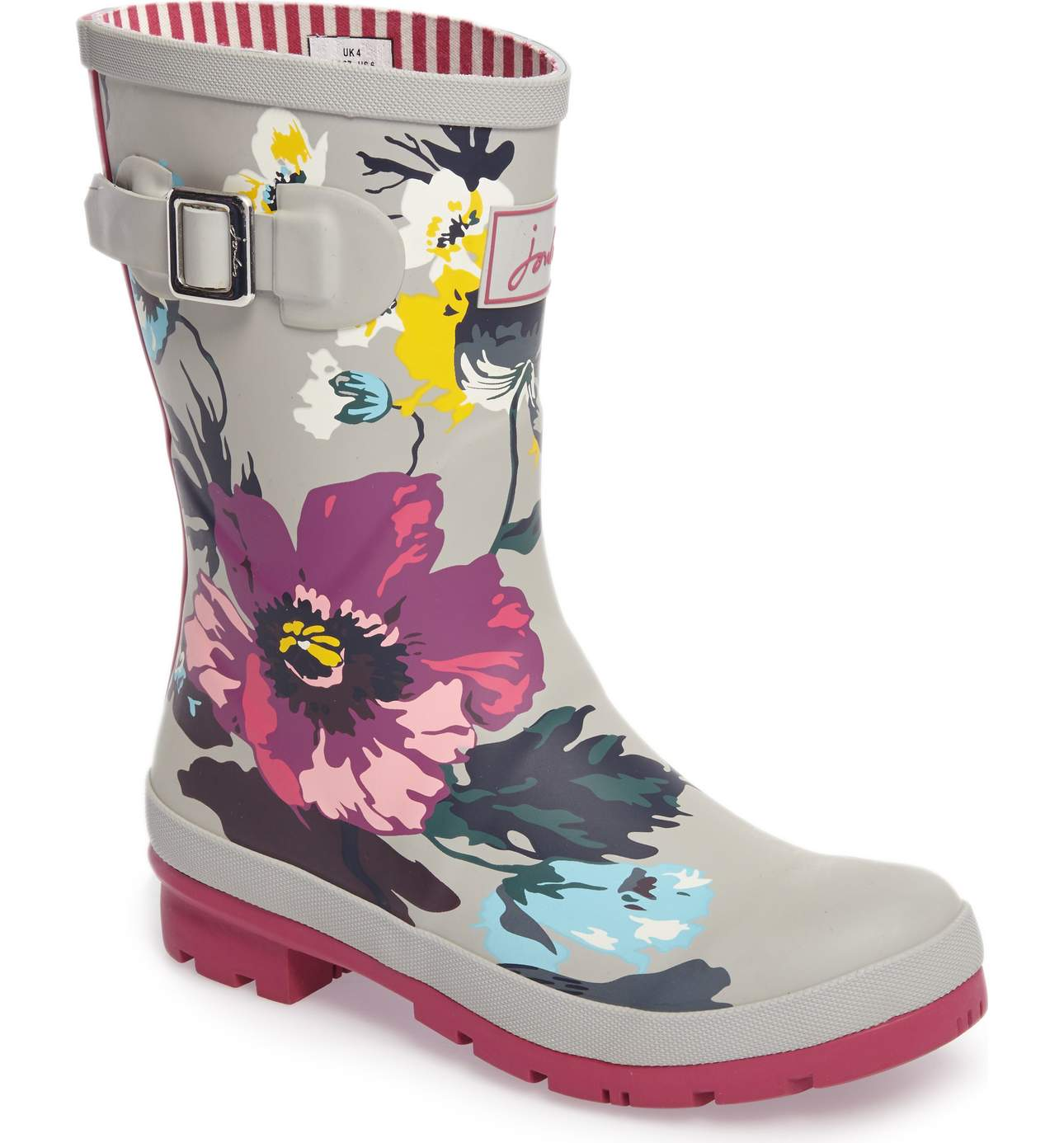 Yes, it's Spring and the sun in out but this is Seattle after-all and you WILL need something on hand to chase the rainy-day blues.{ } Try these sturdy mid-calf rain boots in a peppy, cosmopolitan print. Molly Rain Book - $69.95. (Image: Nordstrom){ }