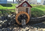 Water wheel installed in Kaukauna.JPG
