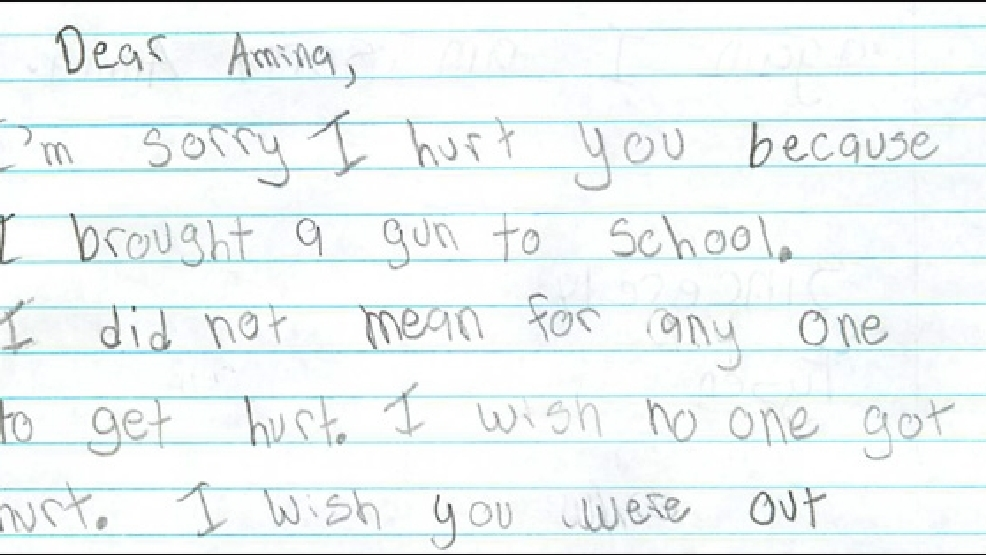 I Made A Bad Choice Boy Writes Apology Letter To