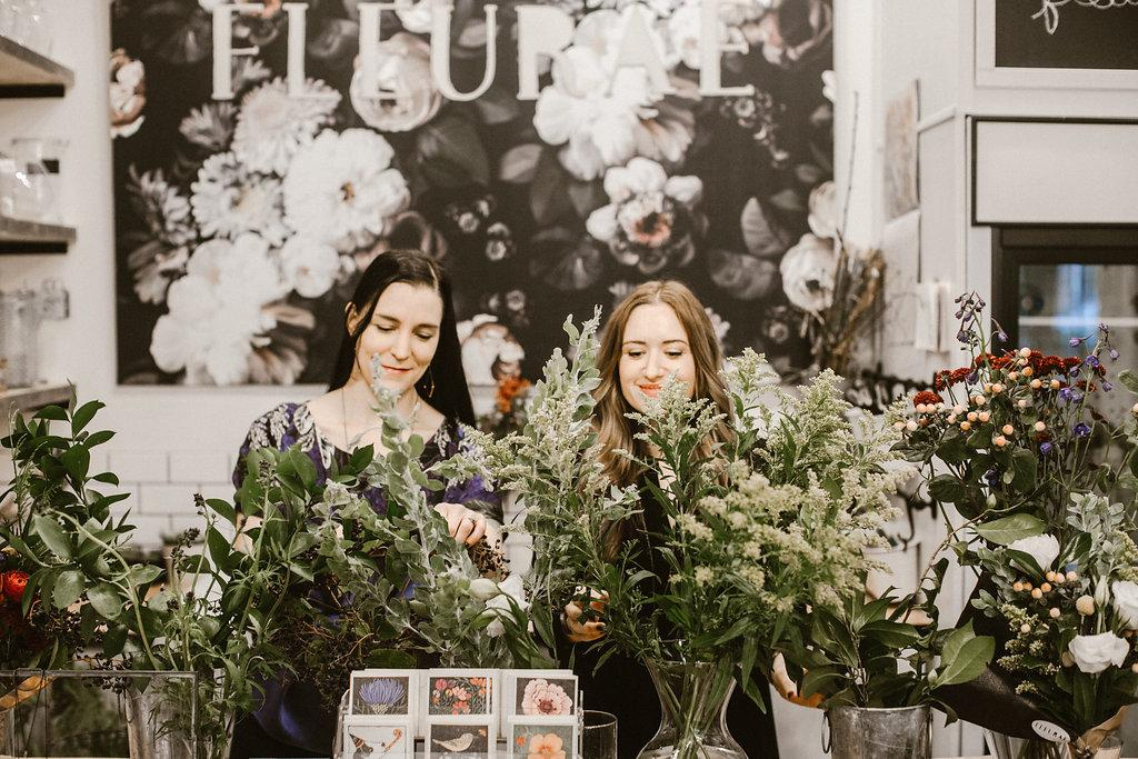 Serving as a floral design and small gift shoppe, Fleurae owners Carissa and Lana have established themselves as a one stop gift shoppe. (PHOTO: OLYSOCIAL and Poppi Photography).
