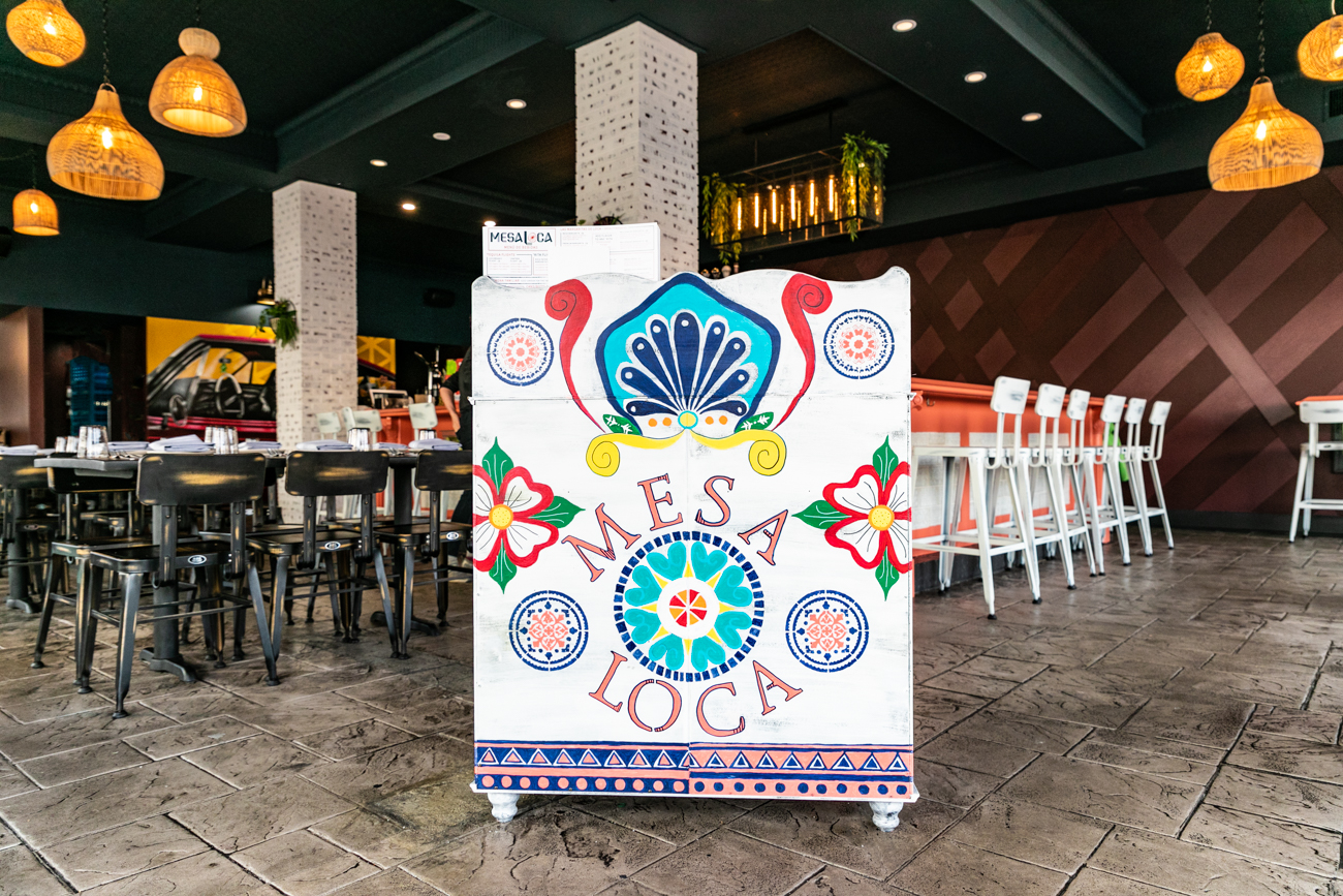 Mesa Loca, a Mexican restaurant in Hyde Park Square, offers boldly flavored, shareable plates along with tequila and wine in a colorful dining room and lounge. The space also features an outdoor patio for use during seasonal months. Mesa Loca opened its doors in late-November 2019 and continues to operate Tuesday through Thursday from 4 to 11 PM, Friday and Saturday from 4 PM to midnight, and Sunday from 1 to 9 PM. Reservations are also available. ADDRESS: 2645 Erie Ave (45208) / Image: Amy Elisabeth Spasoff // Published: 1.5.20