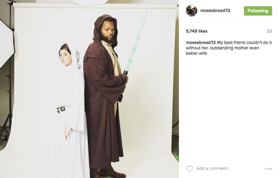 Michael Bennett is used to winning on the field, so it's no surprise that he's killing the game (of LIFE) as well. Bennett, his wife Pele, their niece and three daughters showed the world what they are being for Halloween with a mini photo shoot over the weekend. Like it very much, we do. (Image: @mosesbread72 / instagram.com/mosesbread72)
