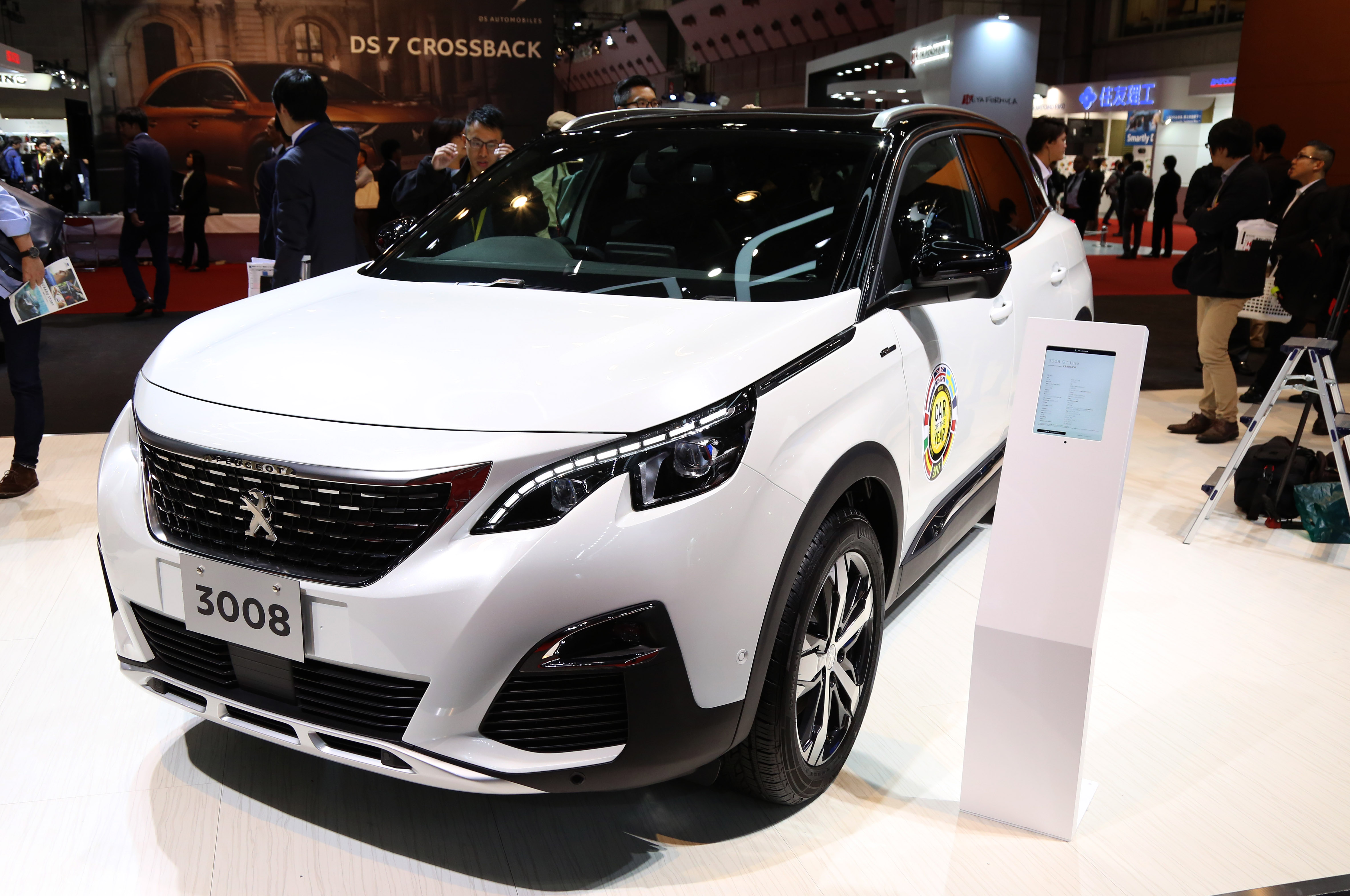 Tokyo Motor Show 2017  Featuring: Peugeot 3008 Where: Tokyo, Japan When: 25 Oct 2017 Credit: Yukio Tomita/Future Image/WENN.com  **Not available for publication in Germany**