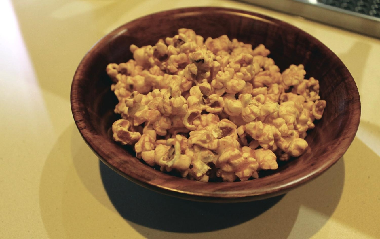 Grippo's Cheddar BBQ popcorn from Jenco Brothers' Candy / Image: Rose Brewington // Published: 1.14.17