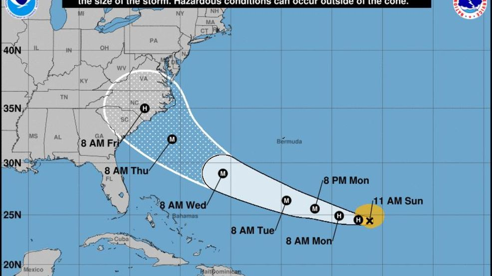 Now A Hurricane Florence Takes Aim At Us Southeast