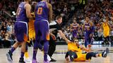 Suns' Chriss, Dudley fined $25K each after Jazz's Rubio shoved